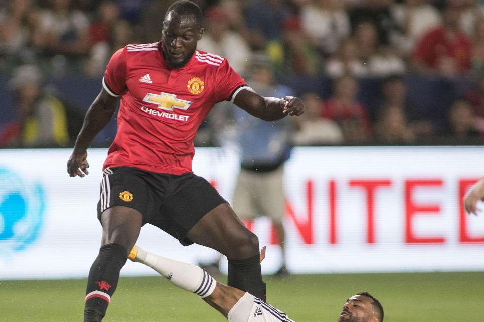 Gol perdana Lukaku untuk United