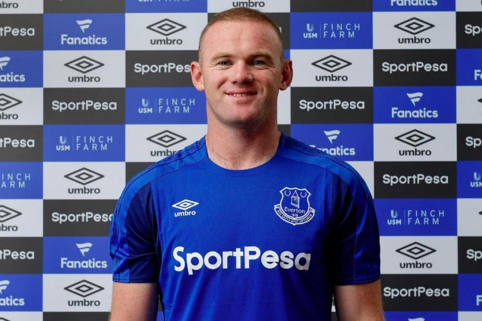 Rooney resmi menjadi pemain Everton