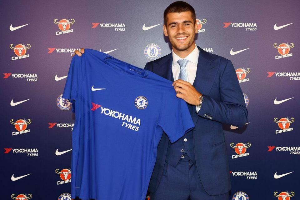 Morata resmi gabung Chelsea