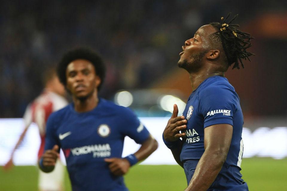 Batshuayi jadi penentu kemenangan Chelsea atas Arsenal